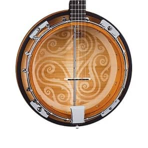 Luna Folk Series Celtic Five-String Banjo, BGB CEL 5 for sale