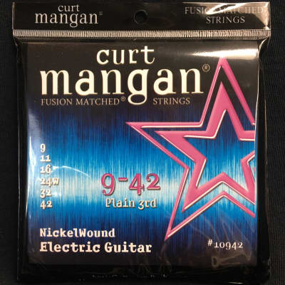 Curt Mangan Nickel Wound 9-42
