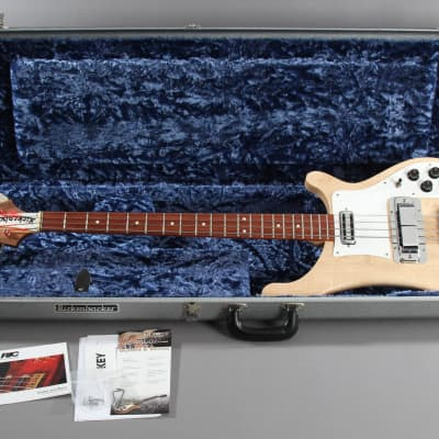 2005 Rickenbacker 4001C64S MG Satin Mapleglo Bass Guitar for sale