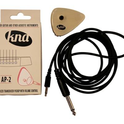 Kremona KNA AP-2 Piezo Acoustic Transducer Pickup w/ Volume Control & Free Same Day Shipping for sale