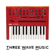 Korg Monologue Red Monophonic Analogue Synthesizer Now in Stock!