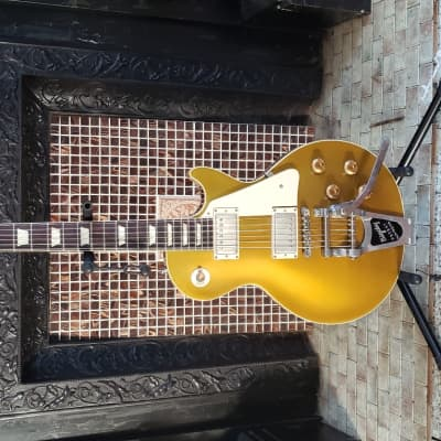 Gibson Custom Shop Historic Goldtop R7 '57 Les Paul VOS Gold Top With Factory Bigsby 2014 Gold Top