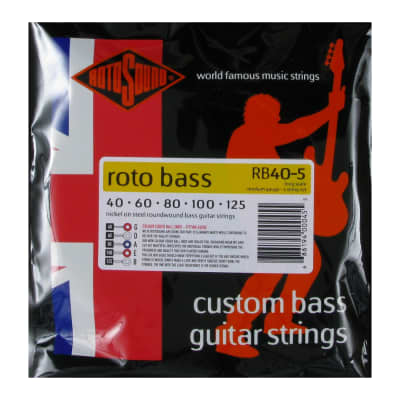 Rotosound RB40-5 Roto Bass 5-String Bass Strings