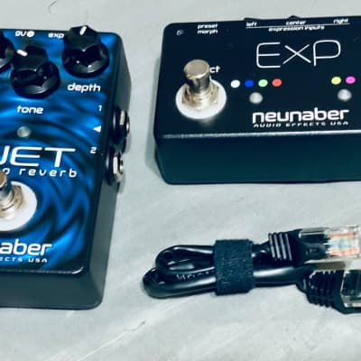 Neunaber Wet Stereo Reverb v2 with ExP Controller