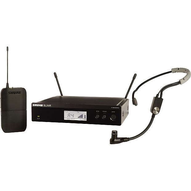 shure blx14r sm35 headset mic wireless system w sm35 headworn reverb. Black Bedroom Furniture Sets. Home Design Ideas
