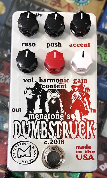 menatone dumbstruck low gain guitar effect pedal reverb. Black Bedroom Furniture Sets. Home Design Ideas