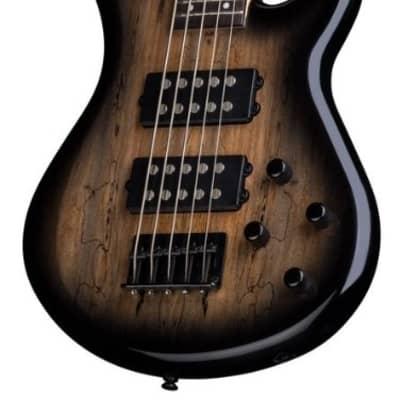 Dean Guitars Dean Edge 2 5-String Bass Guitar - Charcoal Burst, E2 5 SM CHB)