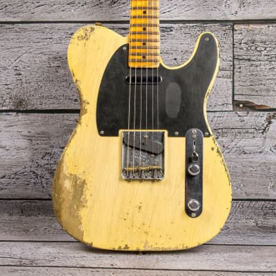 Fender 1951 Heavy Relic Custom Shop Nocaster - Faded Blonde for sale