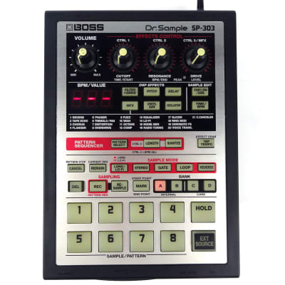 Boss SP-303 Dr. Sample