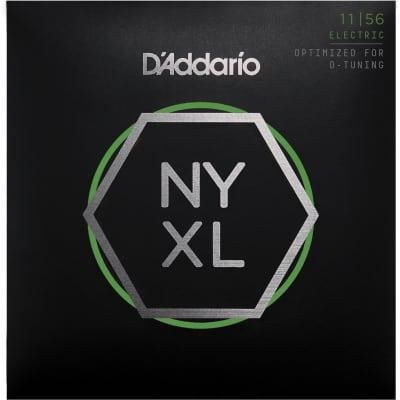 D'Addario NYXL Electric Guitar Strings   Medium Top - Extra Heavy Bottom