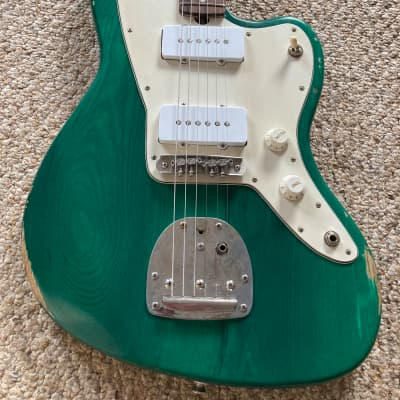 Brown Bear Guitars Jazzmaster with Mastery bridge and McNelly pickups for sale