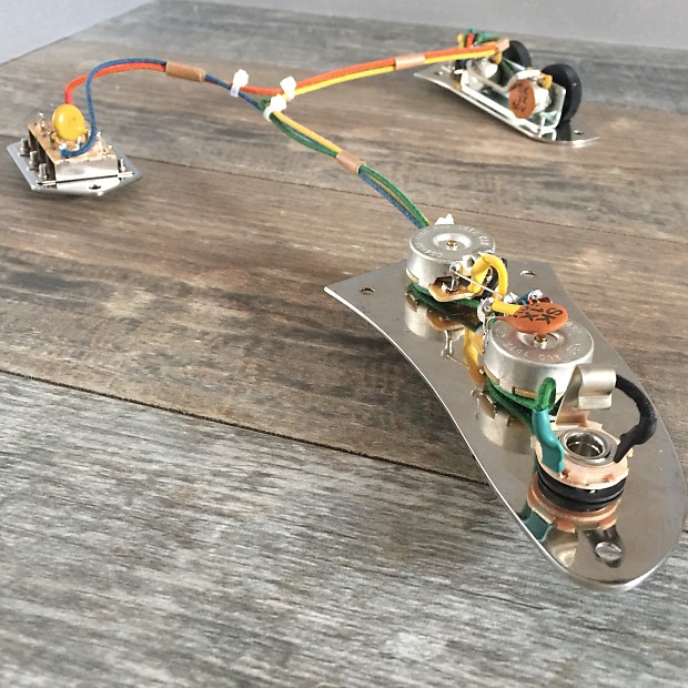 Vintage Style Fender Jaguar Wiring Harness 62 on fender jaguar manual, fender jaguar switches, fender jaguar wiring kit, fender esquire wiring harness, fender jaguar hardware, fender stratocaster wiring harness,