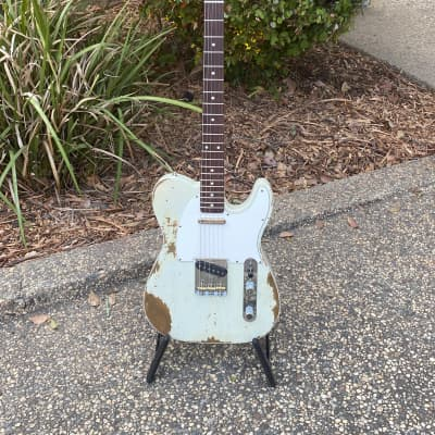 Fender Fender Telecaster Custom 1960 Heavy Relic  2018 Olympic White for sale