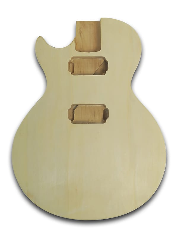 Unfinished Electric PJM Bass Guitar Body Bass Wood Made Body