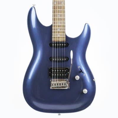 2001 Brawley Guitars Keith Brawley A332 A122 Threat SSH Electric Guitar in Blue Metallic for sale