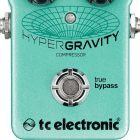 TC Electronic HyperGravity Compressor Effect Pedal image