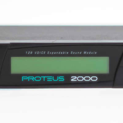 E-mu Proteus 2000 128 Voice Expandable Synthesizer Sound Module