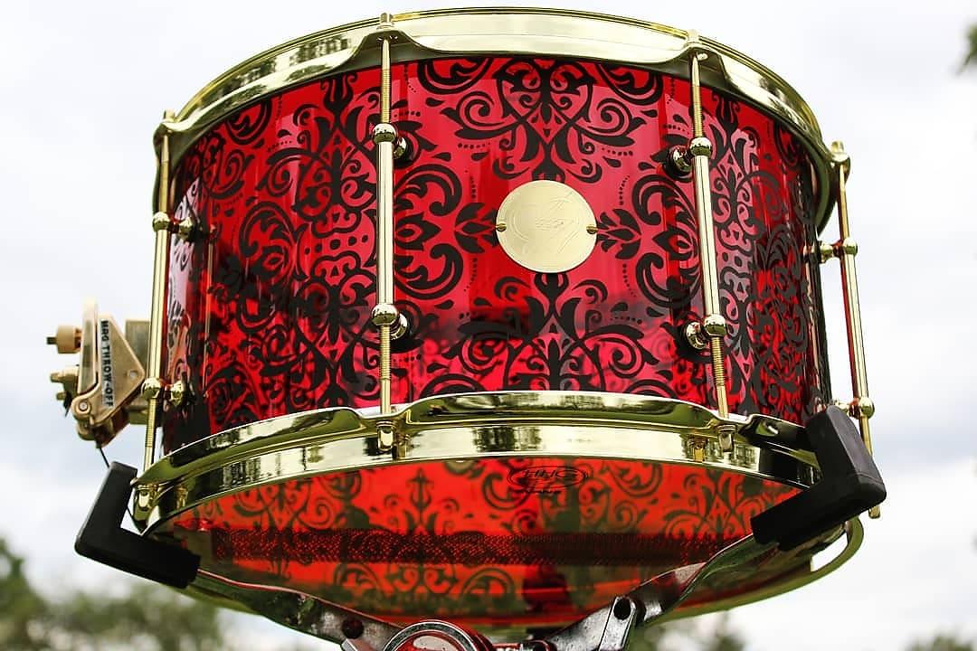 HHG Drums Custom etched acrylic 2019