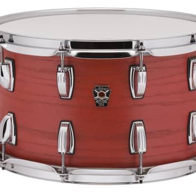 Ludwig 8x14 Keystone X Snare Drum- Sienna Fire