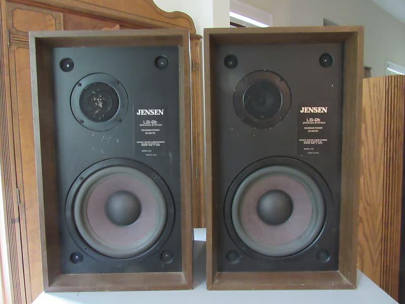 Jensen Ls 2b Large Bookshelf Speakers With Original Boxes Reverb