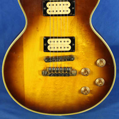 Vintage 1978 Gibson Les Paul Custom Tobacco Burst Electric Guitar Ace Frehley (?) for sale