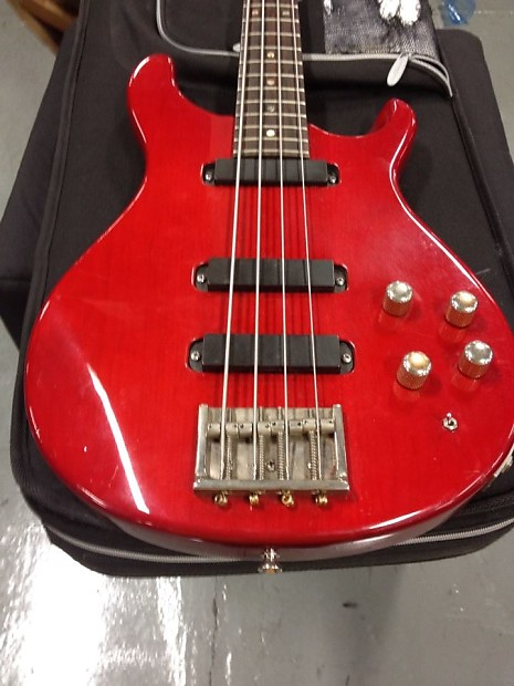 paul reed smith bass 1990 red senatore 39 s reverb. Black Bedroom Furniture Sets. Home Design Ideas