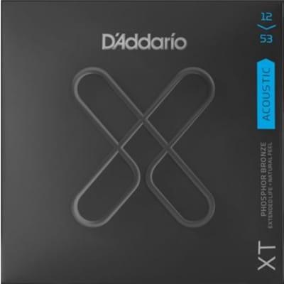 D'Addario XTAPB1253 XT Phosphor Bronze Light Acoustic Strings .012-.053
