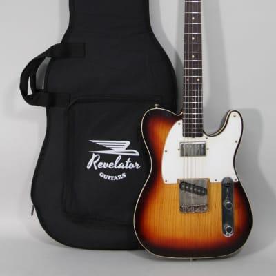 2020 Revelator Retrosonic Double-Bound T-Style Sunburst Finish Electric Guitar for sale