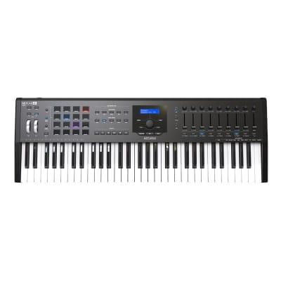 Arturia Keylab MKII 61 Controller Keyboard, Black