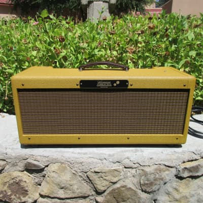 Carl's Custom Amps Tumblin' Dice Tweed High Power Twin Style Head 80W, 40W, or 30W for sale