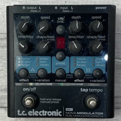 TC Electronic NM-1 Nova Modulator, Second-Hand for sale