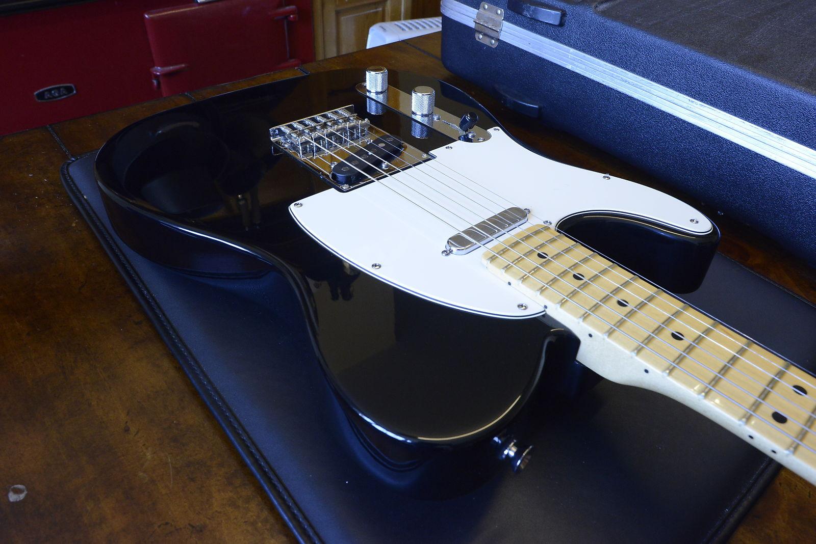 Fender American Standard Telecaster Lefty LH Left Hand Handed Black ...