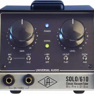 Universal Audio Solo/610  - Classic Tube 1-Channel Mic Pre/DI
