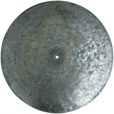 "Dream Cymbals 22"" Dark Matter Series Flat Earth Ride Cymbal"