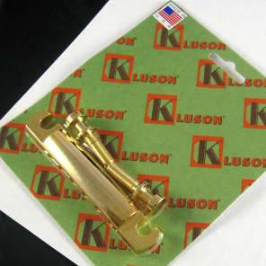 Kluson KLP-1142G Lightweight Aluminum Stop-Bar Tailpiece