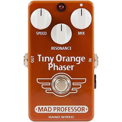 Mad Professor Hand Wired Tiny Orange Phaser Open Box Mint for sale