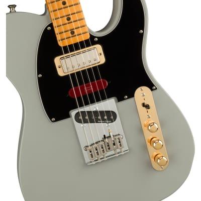 PRE-ORDER Fender Brent Mason Telecaster Guitar, Maple Fretboard, Primer Grey