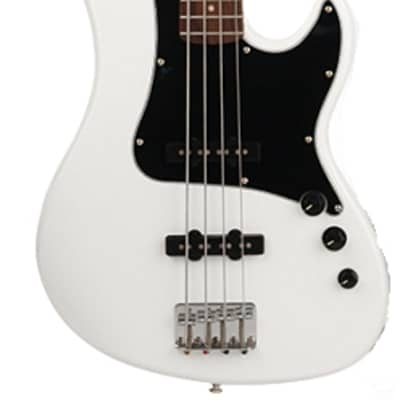 Cort GB54JJOW GB Series Double Cutaway Canadian Hard-Maple Neck 4-String Electric Bass Guitar - B-St for sale