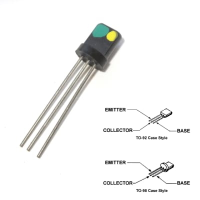 Green/Yellow or Green Dot S-NPN Transistor for Various US Thomas Vox Amplifiers - #86-5044-2