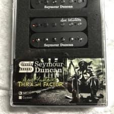 Seymour Duncan Dave Mustaine Thrash Factor Black Humbucker Signature Guitar Pickup Set