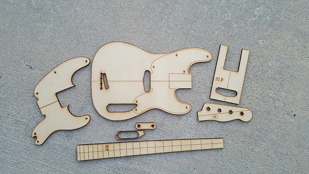 51 P Bass Guitar Template Set P Bass Na Na Reverb