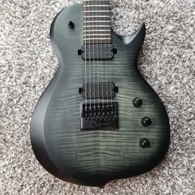 Solar GC1.7FBB  7 String  Flame Black Burst Matte for sale