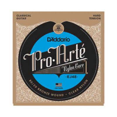 D'Addario EJ48 Pro-Arte Nylon Hard Tension Classical Strings