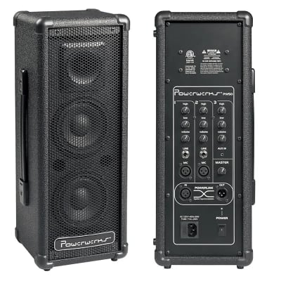 Powerwerks PW50 50w Personal PA System, Black, New, Free Shipping