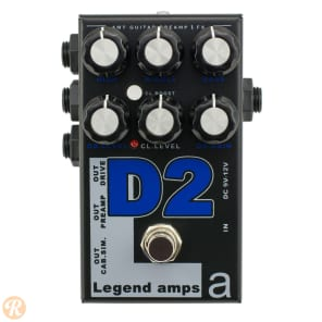 AMT Electronics Legend Amps II D2 Distortion