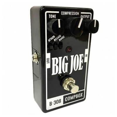 Big Joe Stomp Box Company CompBox B-308 Optical Compressor Pedal Made in USA