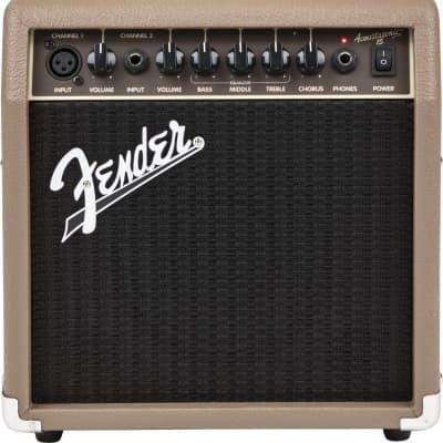 Fender Acoustasonic 15 Watt Acoustic Guitar Amplifier for sale