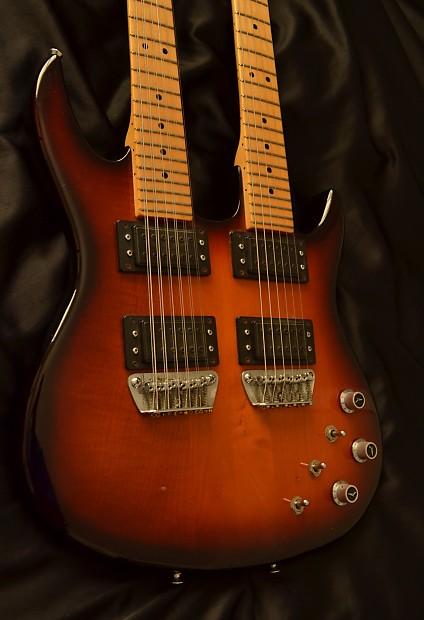 peavey hydra double neck guitar