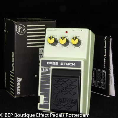 NOS Ibanez BS10 Bass Stack mid 80's s/n 260250 Japan