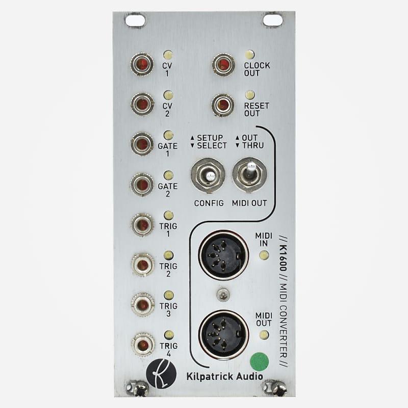 kilpatrick audio k1600 midi converter eurorack midi to cv